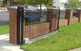 Brick Fence and Column Designs
