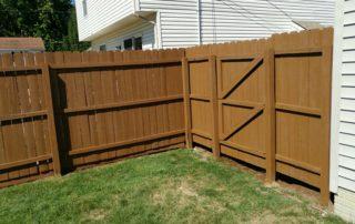 Fence Refinishing Staining Painting