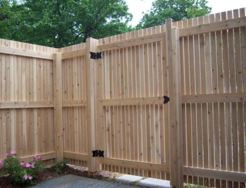 What type of wood is best for fencing in Huntsville, AL?